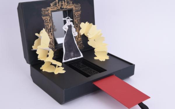 Midas优雅女王口红盒包装设计