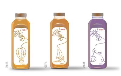 娃哈哈酵蘇飲品包裝設計