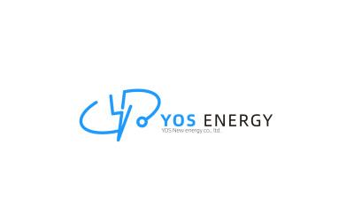 YOS新能源logo設計