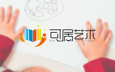 可居艺术 logo设计