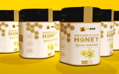 Florica牛油果蜂蜜包裝設...