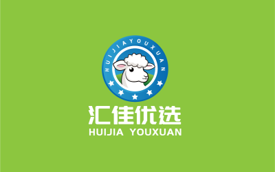 匯佳優選卡通logo設計
