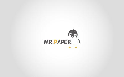 紙先生文創品牌logo和vi設...