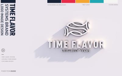 時光解饞品牌餐飲VI設計