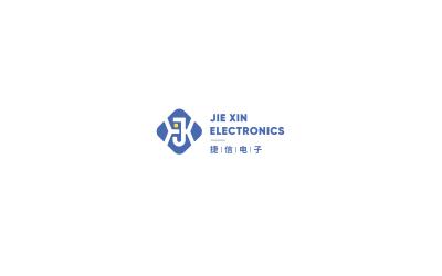 捷信電子logo設計