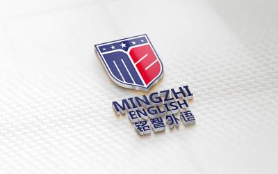 铭智外语教育logo设计