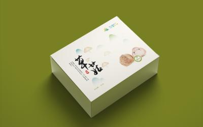 农产品蘑菇包装设计