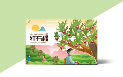 金泉果业食品类包装设计