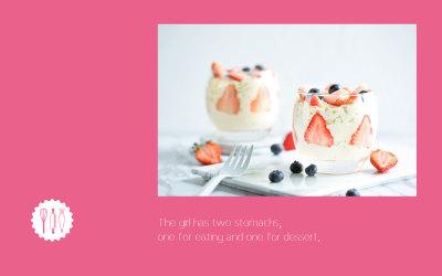 烘焙甜品店logo