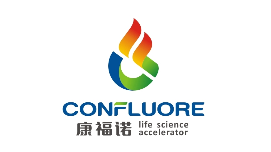 Confluore康福諾科生物科技公司LOGO設計