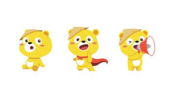 松研呼吸防护用品吉祥物动作延展乐天堂fun88备用网站