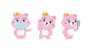 松研呼吸防护用品类吉祥物动作乐天堂fun88备用网站