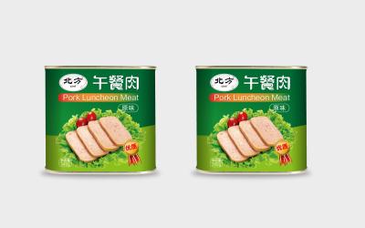午餐肉包装设计