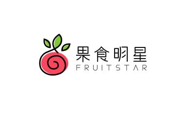 果食明星蔬果行业LOGO设计