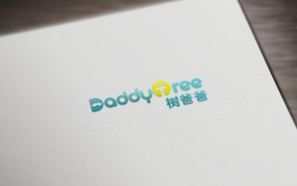 儿童家具品牌/树爸爸/LOGO设计