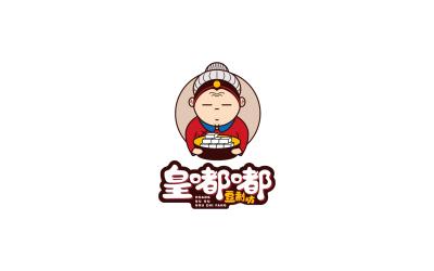 豆制坊卡通LOGO方案3