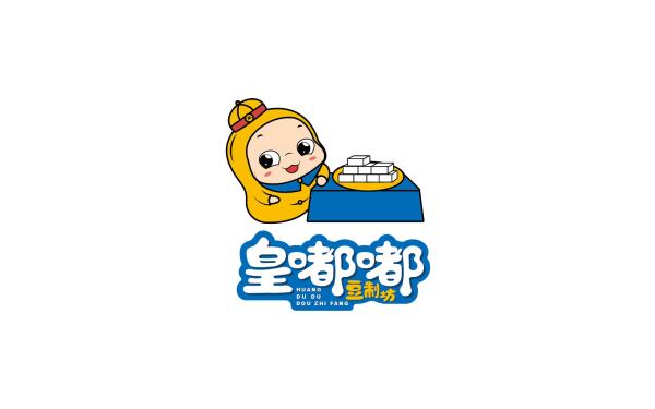 豆制坊卡通LOGO方案2