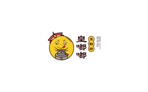 豆制坊卡通LOGO方案1