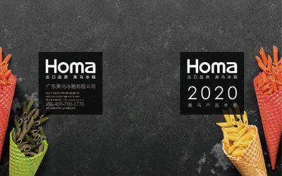 2020年奥马冰箱产品手册设计...