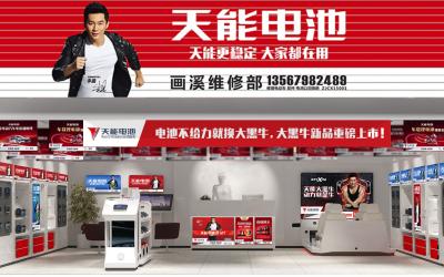 天能电池整体品牌形象设计