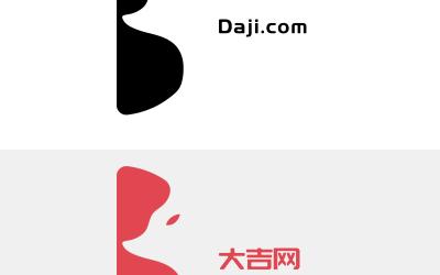 大吉网文创设计类网站logo设计