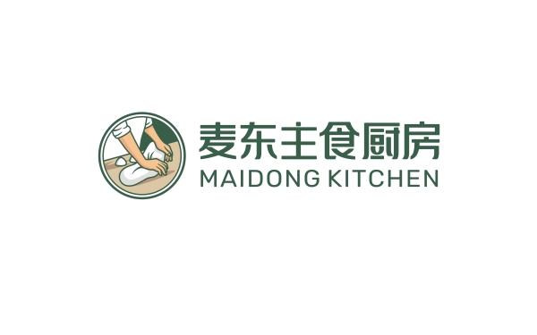 麦东主食厨房logo