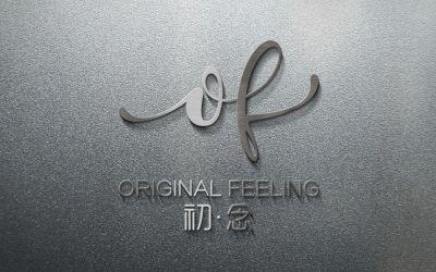 鮮花店logo設計-初念