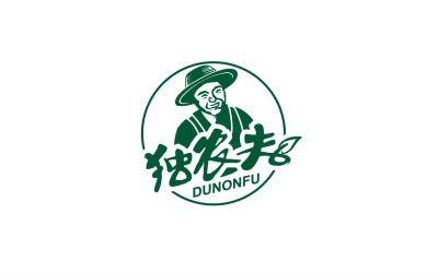 獨農夫健康農產品Logo商標設...