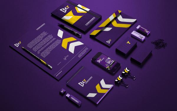 百創通供應鏈科技品牌標志設計