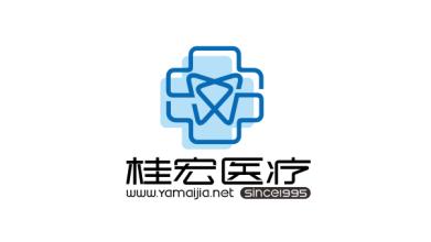桂宏医疗口腔医疗器械公司LOGO设计