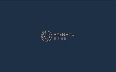 女性化妝品logo設計