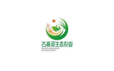 古淮河生态农业LOGO设计