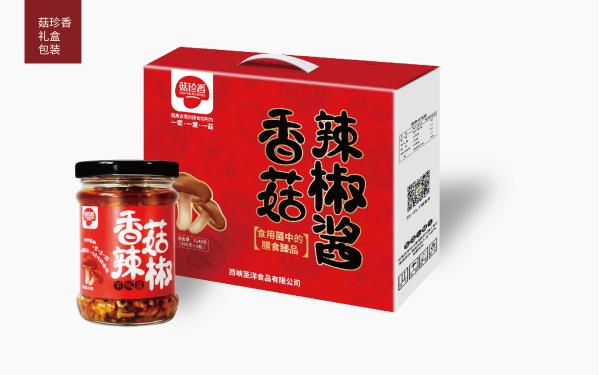 香菇包装设计
