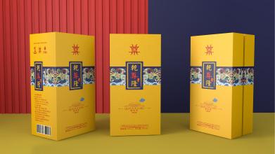 乾尊隆商贸品牌包装延展设计