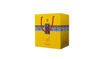 乾尊隆白酒品牌包装延展设计