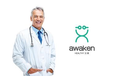 艾康 醫療行業 logo設計