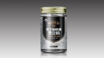 榮怡黑芝麻核桃黑豆粉品牌包裝設計