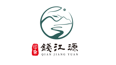印象•钱江源文化餐饮品牌LOGO设计