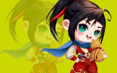 传奇糖果玩具吉祥物IP主形象