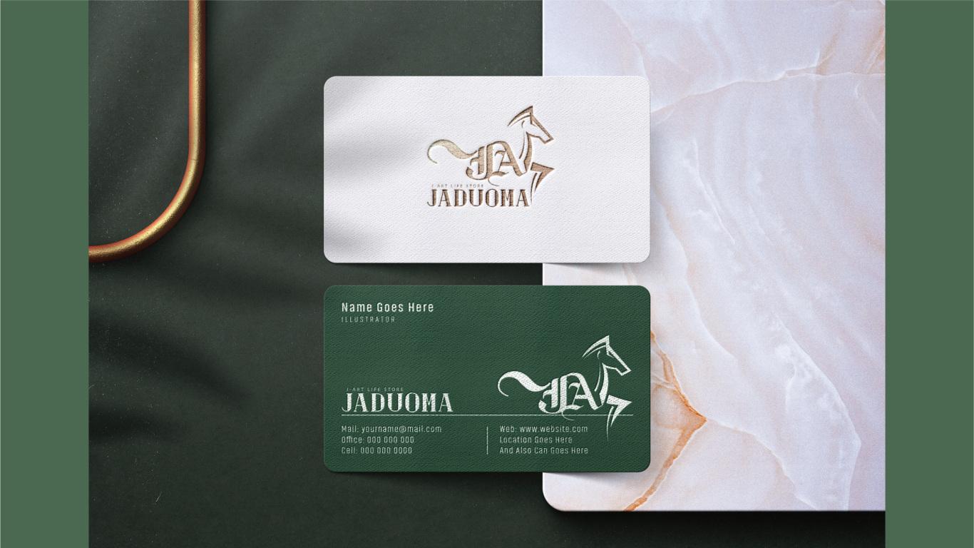 JADUOMA时钟品牌LOGO设计中标图6