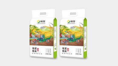 能国大米品牌包装设计