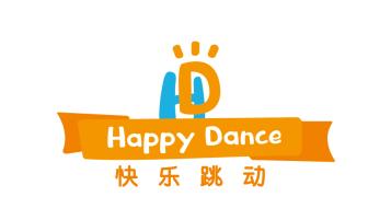 快乐跳动 HAPPY DANCE化妆品品牌LOGO设计