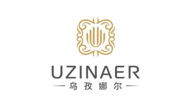 乌孜娜尔 UZINAER化妆造型品牌LOGO设计