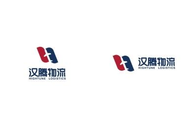 汉腾物流公司logo设计