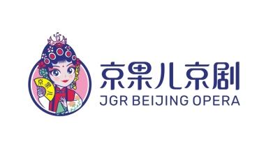 京果儿京剧培训品牌LOGO设计