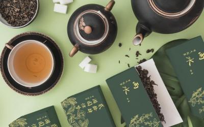 公司企业内部活动花与茶产品包装...
