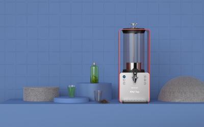工业物联网产品设计,泡茶机外观...