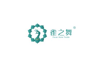 雀之舞家居logo设计