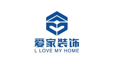爱家装饰公司LOGO乐天堂fun88备用网站