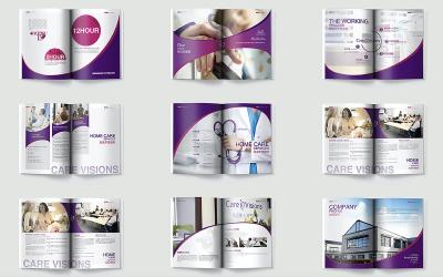 国际护理机构 / 企业宣传册